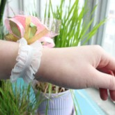 Cloth Flowers Wedding/Bridal Wrist Corsage