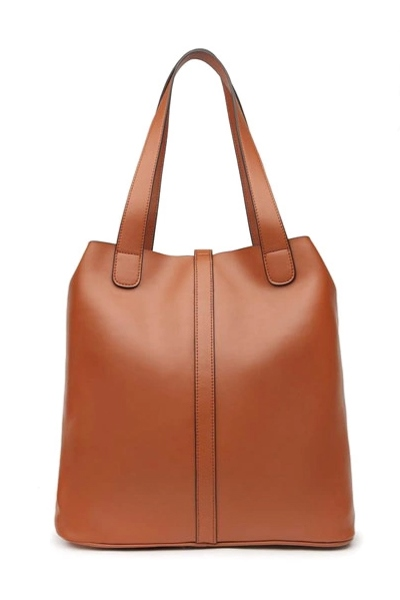 Retro PU Women's Tote Bag