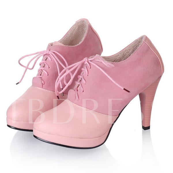 Solid Color Stiletto Heel Women's Ankle Boots
