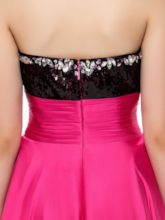 Sweetheart High-Low Sequins Homecoming Dress