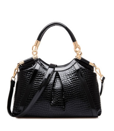 Dual Purpose Alligator Pattern PU Women's Tote Bag