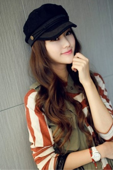 Multi Color VIVI Autumn Korean Style Hat