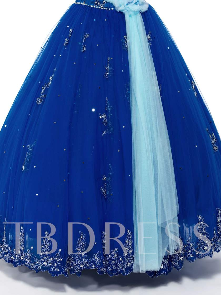 Sweetheart Beadings Appliques Quinceanera Dresses