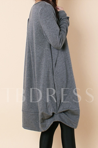 Long Sleeve Loose Women's Dress (Plus Size Available)