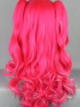 Hallowen Lolita Style Pink Color Cosplay Wigs