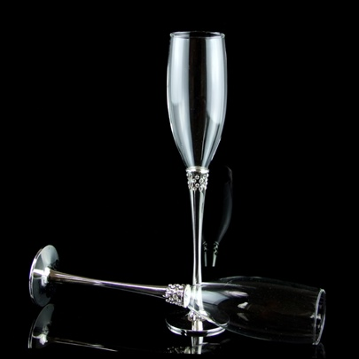 Beaded Toasting Flutes(Set of 2)