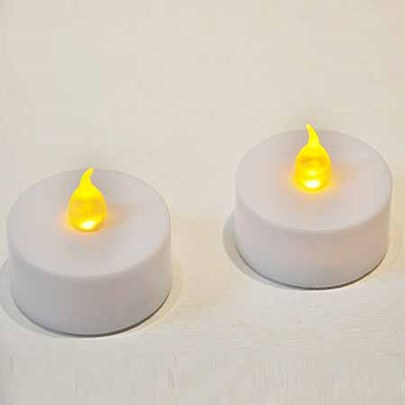 Candle Design Plastic LED Lights