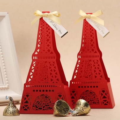 Eiffel Favor Boxes