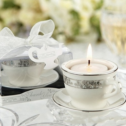 Cup Wedding Candle