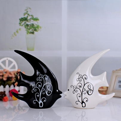 Ceraic Interior Furnishing Articles Home Decoration Crafts (Two Pieces)