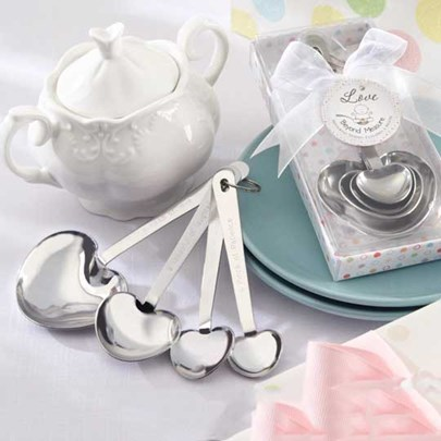 Wedding Favor Heart-Shaped Coffee Spoon