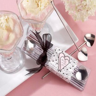Stainless Steel Heart Shaped Coffee Stirring Rod