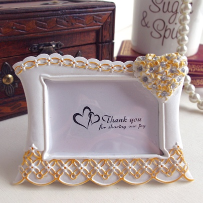 Wedding Favor Rose Po Frame