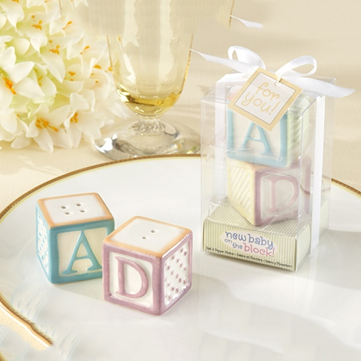 Adorable Wedding Favor Word ABCD Seasoning Pots