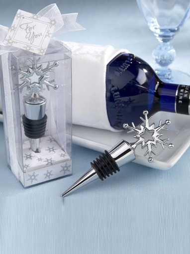 Snowflake Shape Bottle Stoppers