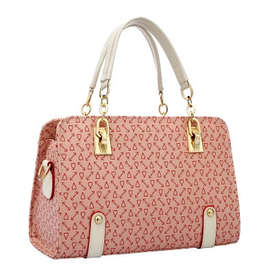 Arrow Print Chain Women's Tote Bag