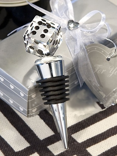 Rhinestone Sieve Bottle Stoppers