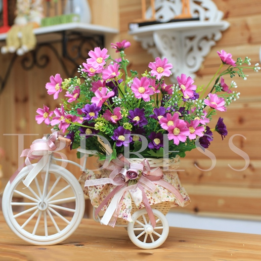 European Small Tricycle Table Centerpieces
