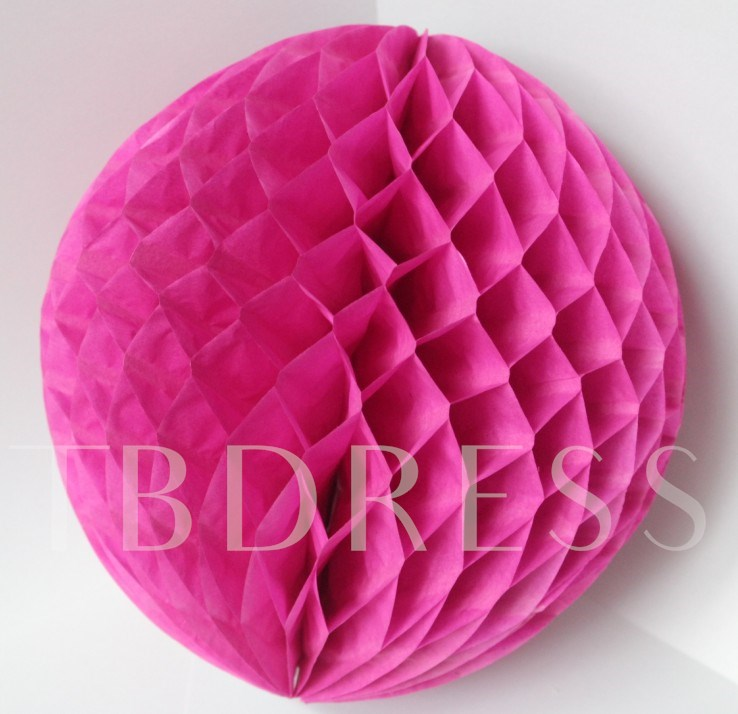 6(15cm) Honeycomb Shaped Paper Flower