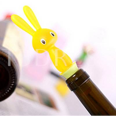 Personalize Rabbit Shape Bottle Stoppers