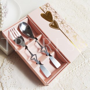 Hollow Heart Stainless Steel Serving Sets