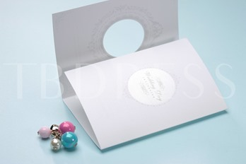 Style Tri-Fold Invitation Cards (20 Pieces One Set)