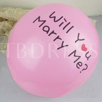 Will You Marry MeBallon Wedding Decoration(100 Pieces One Set)