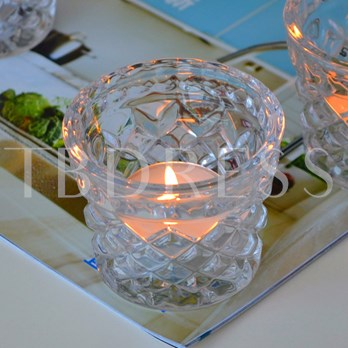 Glass Lucency Candle Cup
