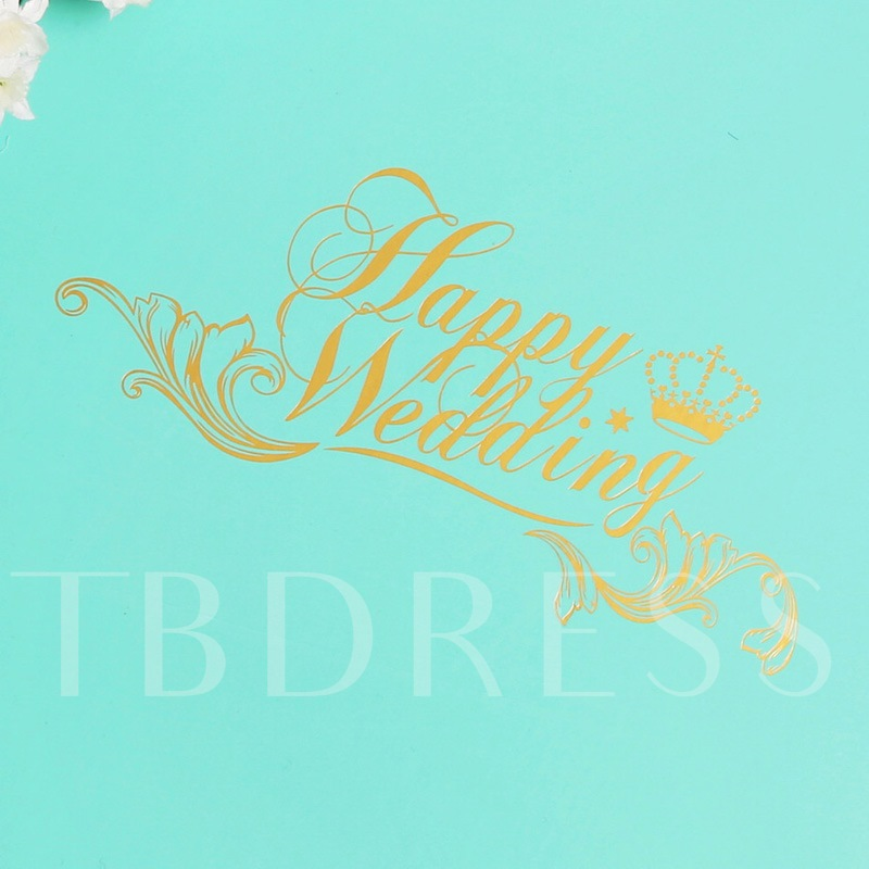 Blue Wedding Guest Book