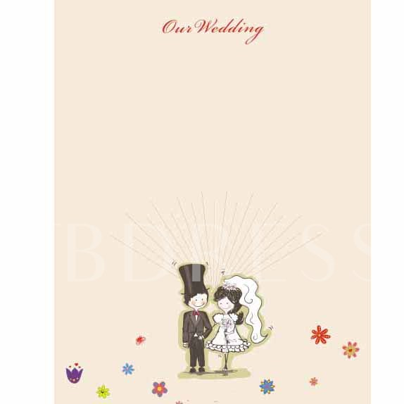 New Couple Wedding Thumbprint Guest Signature Frames
