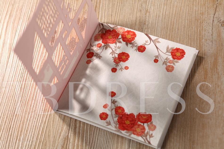 Style Wrap & Pocket Square Invitation Cards (20 Pieces One Set)