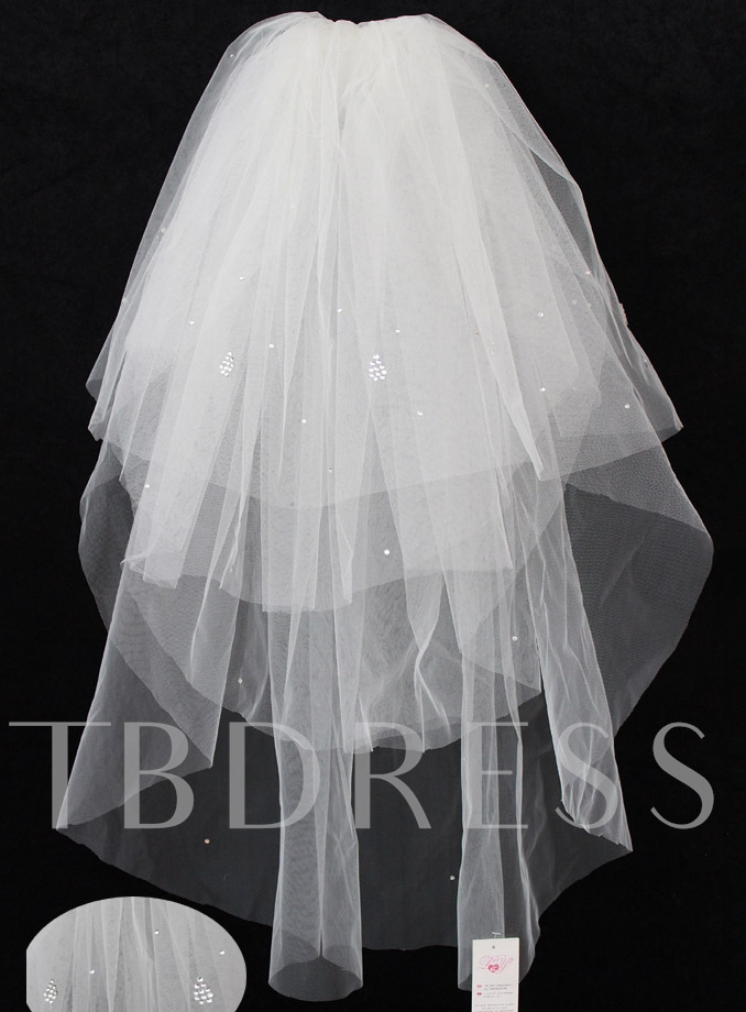Beading Four-layer Wedding Veil