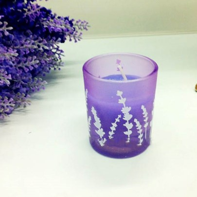 Lavender No Smoke Weeding Candle