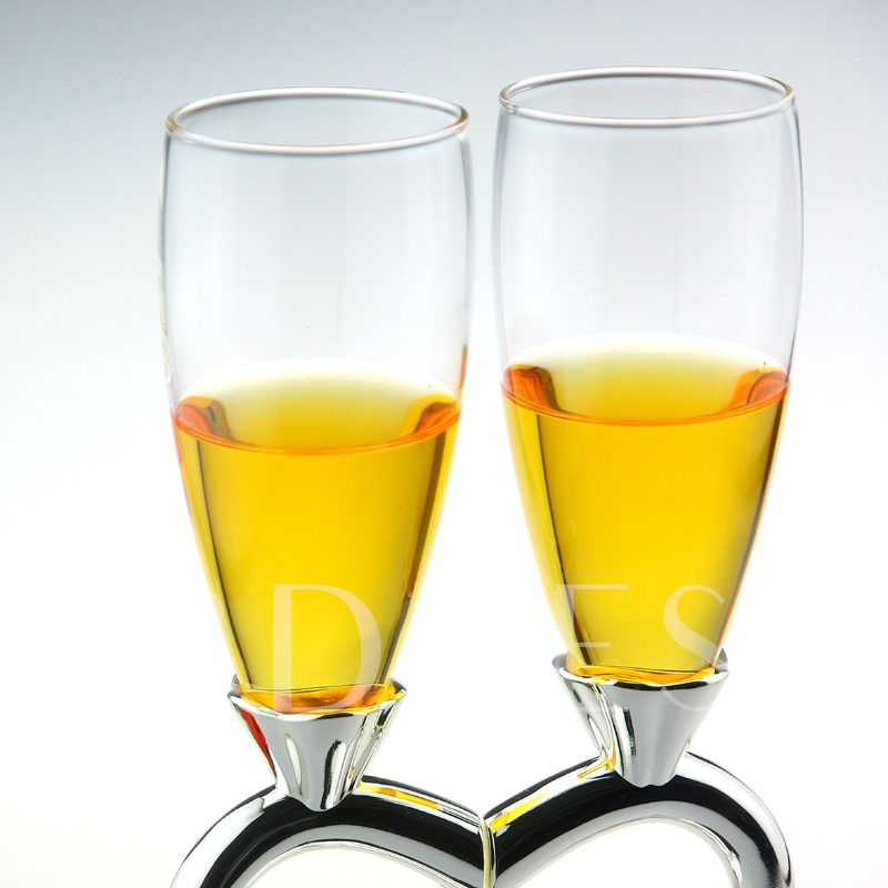 Heart-to-Heart Toasting Flutes (Set of 2)