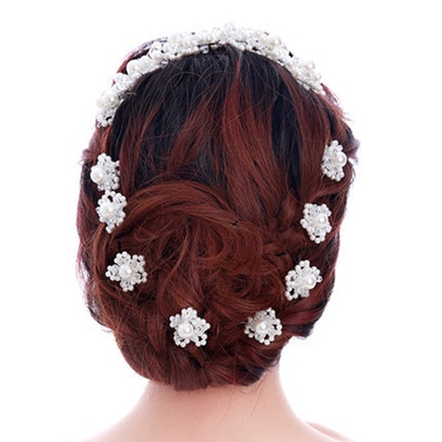 Pearl Flower-Shaped Hairpin for Each