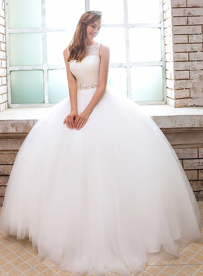 Ball Gown Straps Sequins Lace Wedding Dress Ball Gown Straps Sequins Lace Wedding Dress
