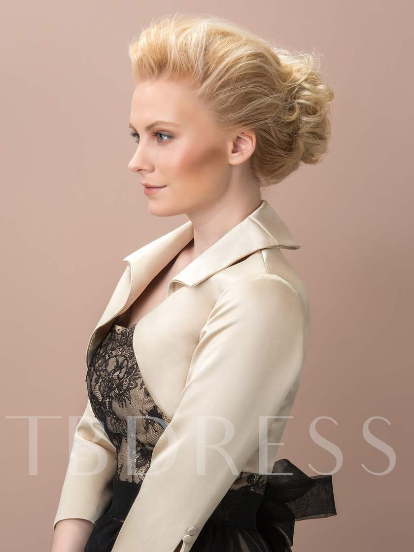 3/4 Length Sleeve Evening Jacket