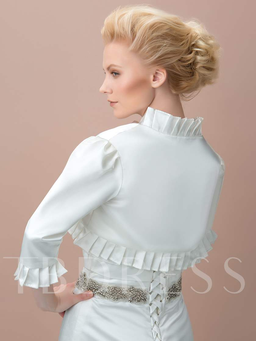 Stringy Selvedge Satin Bridal Jacket