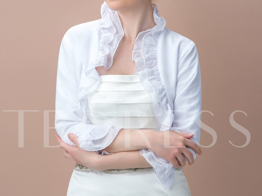 3/4 Length Sleeves Tiered Jacket