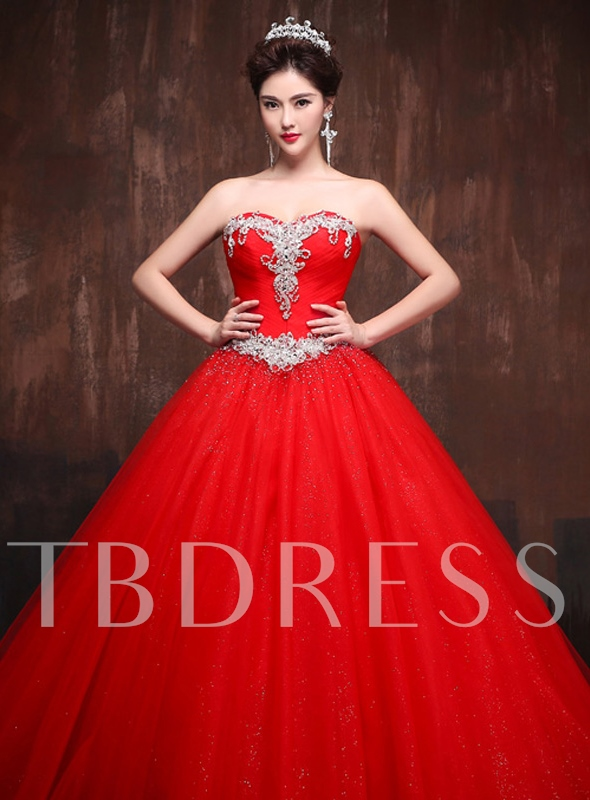 Image of A-Line Rhinestone Beadings Quinceanera Dress