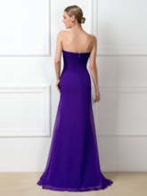 Sweetheart Beading Long Bridesmaid Dress