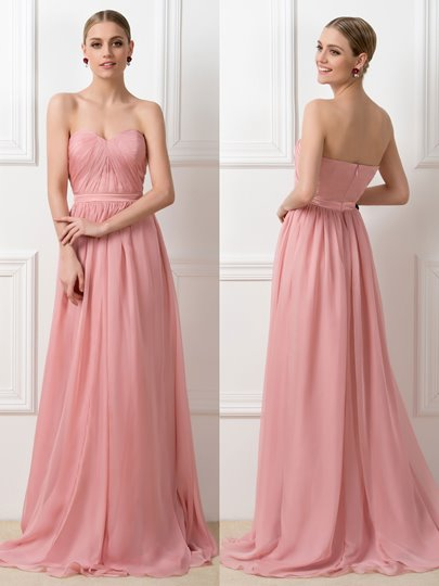 Convertible Ruched Long Bridesmaid Dress