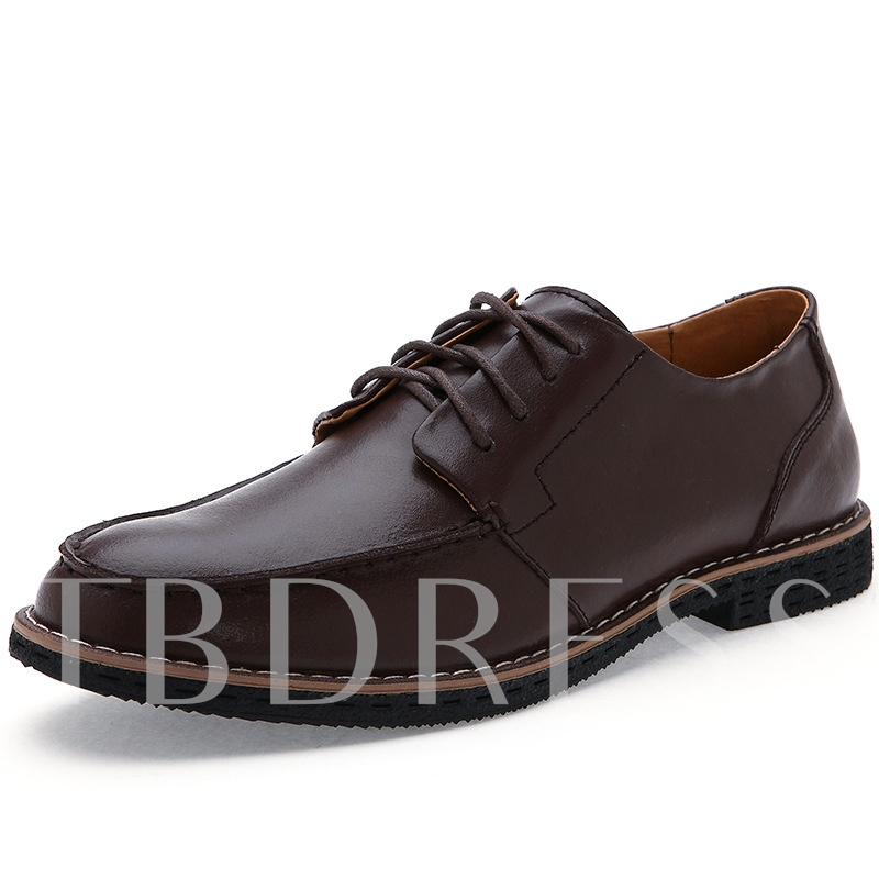 Patent PU Quilted Lace-Up Derbies