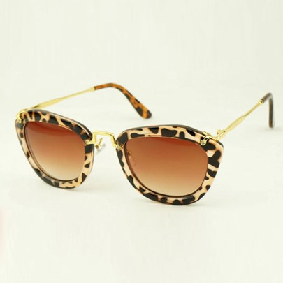 able Resin Lens Women's Sunglasses