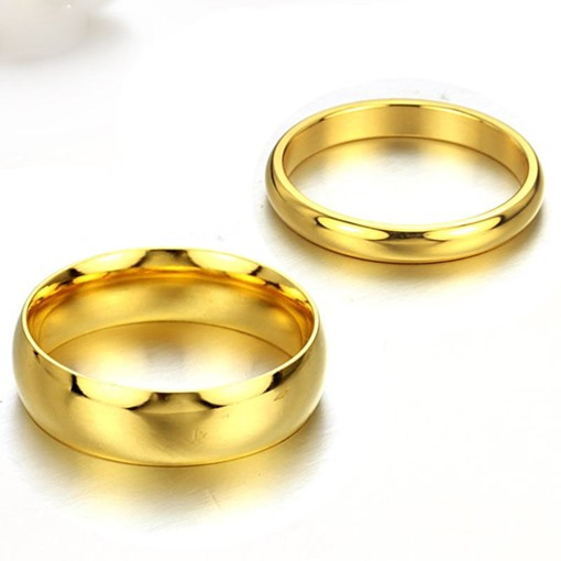 Titanium Steel Lover's Rings(Price For A Pair)