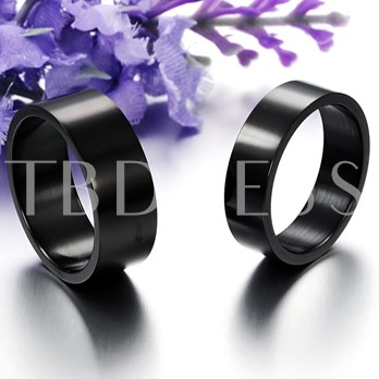 Solid Color Lover's Rings(Price For A Pair)