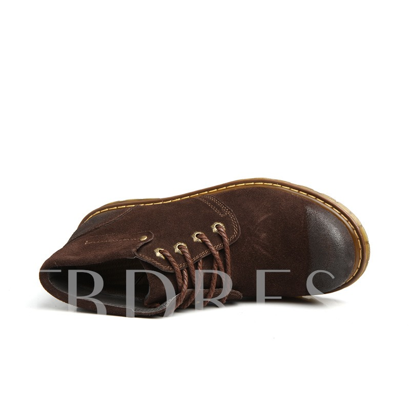 Solid Color Business Oxfords