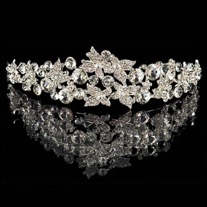 Celebrity Rhinestone Wedding Tiara