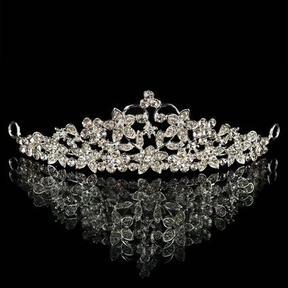 Alloy with Rhinestone Bridal Tiara