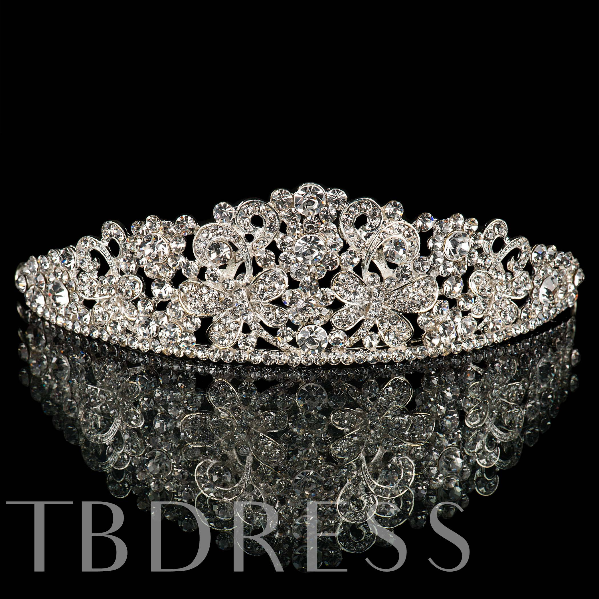 Clear Rhinestones Wedding Bridal Tiara